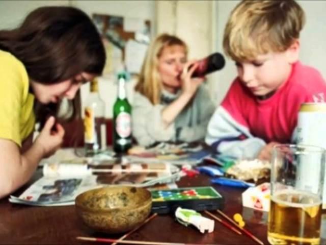 Мать алкоголик